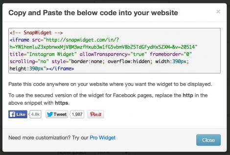 3 koden til instagram blog