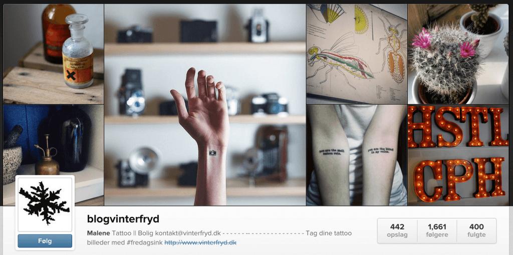 Vinterfryd på Instagram