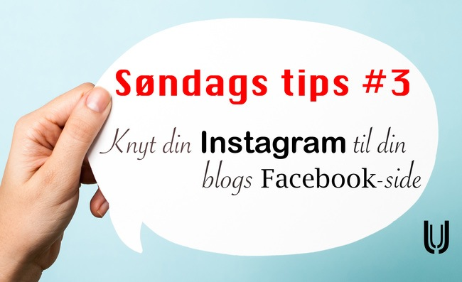 Knyt din Instagram til din blogs Facebook-side