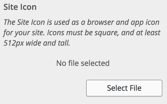 favicon i WordPress 4.3