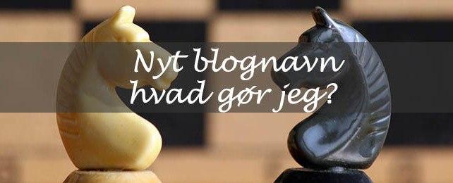 Nyt blognavn – hvad gør jeg? (skrift fra domæne 1 til domæne 2)