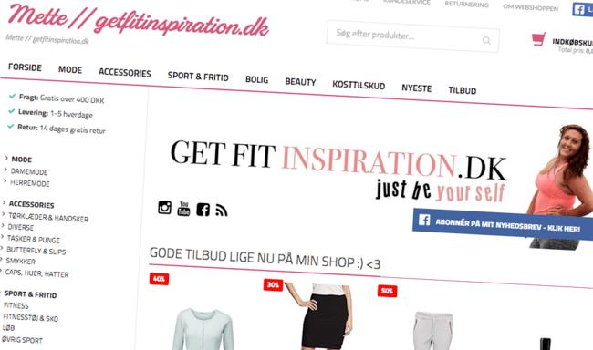 getfitinspiration webshop på Zircles