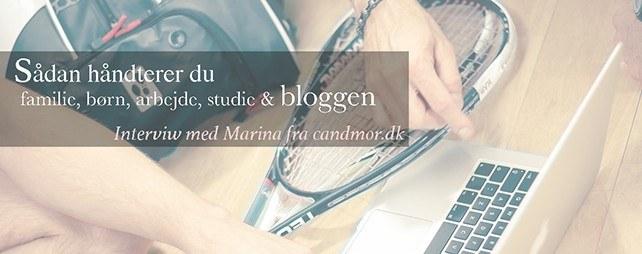 Interview med Marina fra candmor.dk