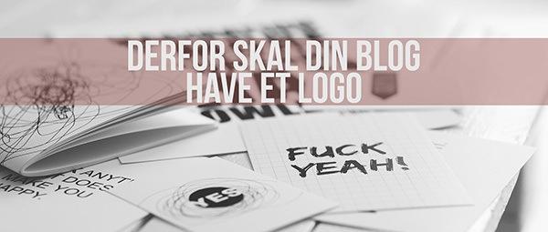 Derfor skal din blog have et logo
