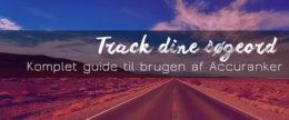 Track dine søgeord – guide til Accuranker