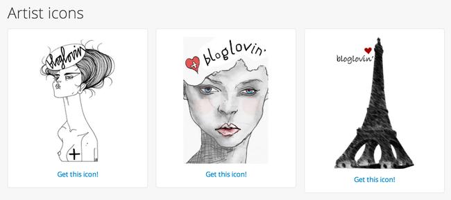 15 Store bloglovin ikoner