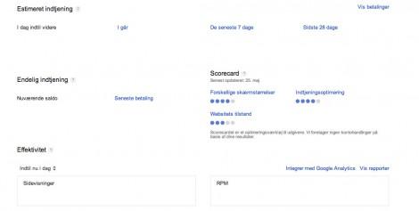 4 dit google adsense panel