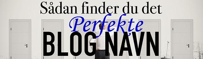 Blog navn-top