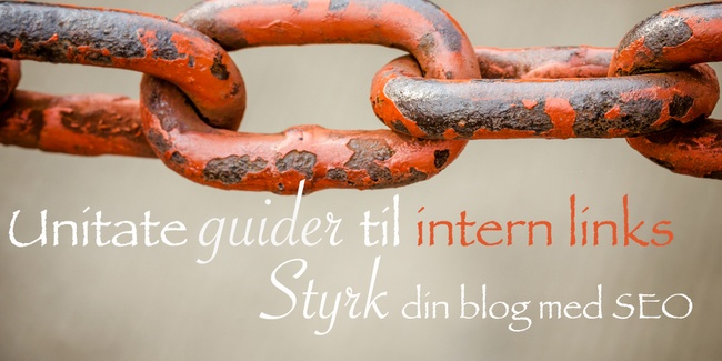 Intern linkbuilding for bloggere