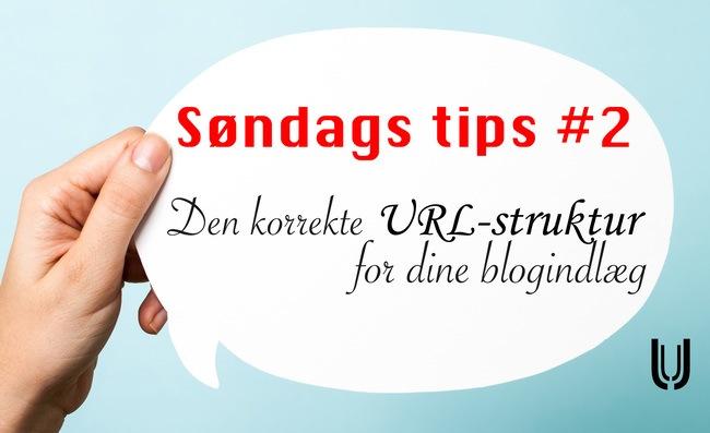 Den korrekte URL-struktur for dine blogindlæg