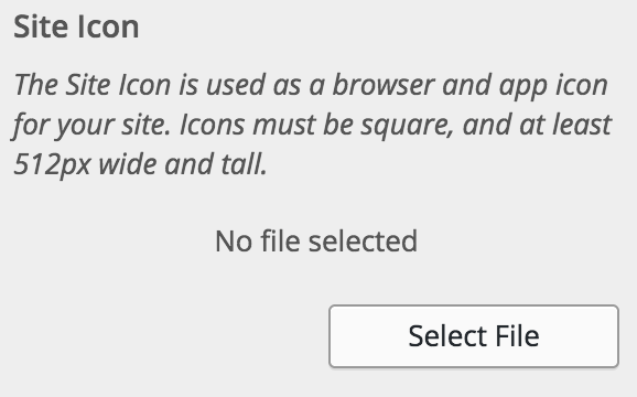 favicon i WordPress 4.3