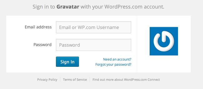 1 Besøg Gravatar for at tilknyttet billedet