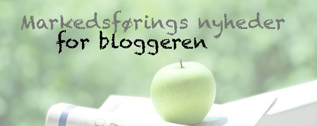 Markedsførings nyheder for bloggeren