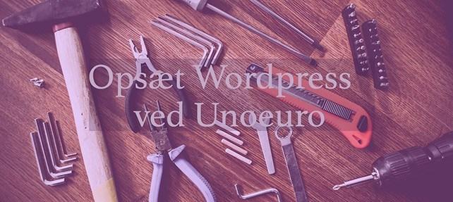 Unoeuro WordPress