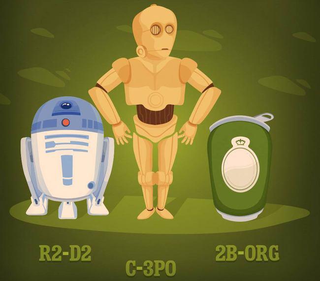 Tuborg og Star Wars-ny