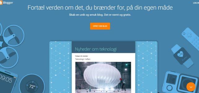Anmeldelse af Blogger.com